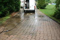 Pressuretech cleaning
