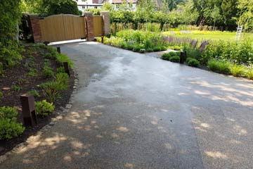 Before Pressure Tech cleaned the Resin Driveway in Otford, Kent TN14