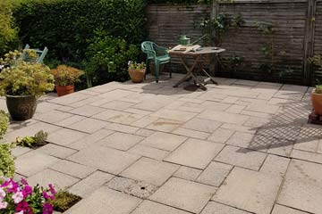 After Pressure Tech cleaned the Patio in Tunbridge Wells, Kent TN1