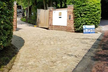 After Pressure Tech cleaned the Driveway in Otford, Kent TN14